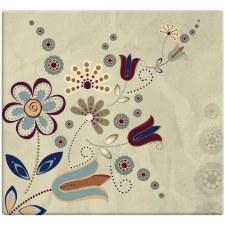 MBI 12x12 Postbound Scrapbook- Folk Floral