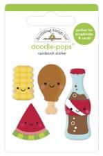 Bar-B-Cute Doodle-Pops -  Foodie Friends