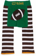 Baby Leggings, Football- 6-12m