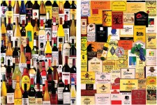 For the Love of Wine 2-in-1- 1,000 Piece Puzzle