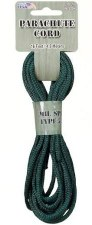 Parachute Cord 4mm x 16ft- Forest Camo