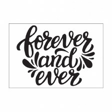 Darice Embossing Folder- Celebrations- Forever & Ever