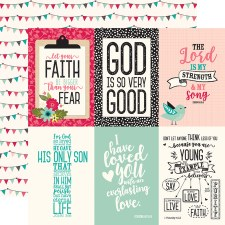 Forward with Faith 12x12 Paper- 4x6 Cards