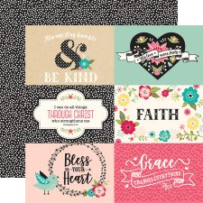 Forward with Faith 12x12 Paper- 6x4 Cards