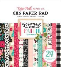 Forward with Faith 6x6 Paper Pad