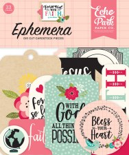Forward with Faith Ephemera Die Cuts