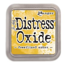 Tim Holtz Distress Oxide- Fossilized Amber Ink Pad
