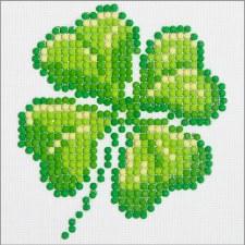 Diamond Facet Art Starter Kit- Four Leaf Clover