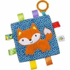 Taggies Crinkle Me Baby Toy- Fox