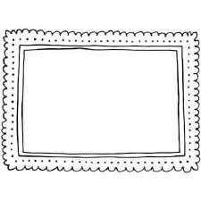 Darice Embossing Folder- Frame Dot
