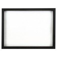 "White Plaque w/ Slatboard Back, 11.75""x15.75"""