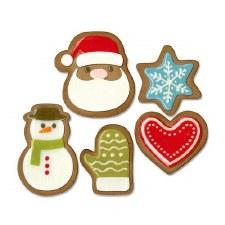 Tim Holtz Christmas Thinlits- Fresh Baked #1