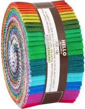 Roll-Up Fabric Strips- Fresh Hues