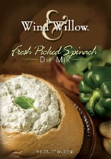 Wind & Willow Dip Mix- Fresh Picked Spinach