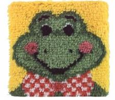 Latch Hook 12x12 Kit- Froggy