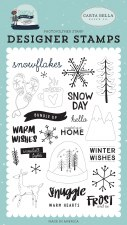 Snow Much Fun Clear Stamp Set- Frost & Ice