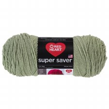 Red Heart Super Saver Yarn- Frosty Green