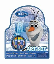 Kid's Art Set- Frozen