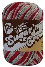 Sugar 'n Cream Yarn, Ombre- Full Bloom
