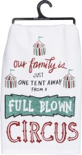 LOL Dish Towel- Full Blown Circus