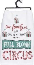 Dish Towel- Full Blown Circus
