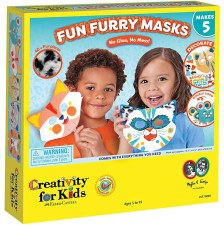 Creativity for Kids Craft Kit- Fun Furry Masks