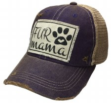 Women's Trucker Baseball Cap- Fur Mama
