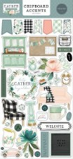 Gather at Home Chipboard Accents