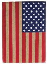 Garden Flag, Burlap American Flag