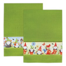 Towel Kit- Garden Gnomes
