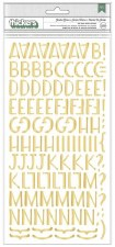 Garden Grove Stickers- Gold Alphabet Thickers