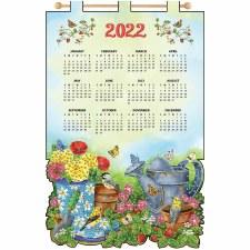 2022 Felt & Sequin Calendar Kit- Garden Scene