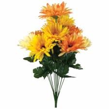 "Gerbera Daisy, 18""- Oranges"