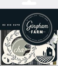 Gingham Farm Mixed Bag Die Cuts