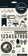 Gingham Farm Sticker Sheet