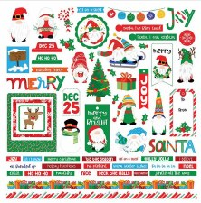 Gnome for Christmas Sticker Sheet