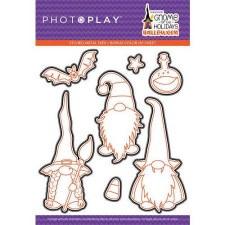 Gnome for Halloween Stamps/Dies- Metal Dies
