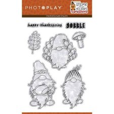 Gnome for Thanksgiving Stamps/Dies- Clear Stamp Set