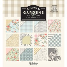 Gingham Gardens 6x6 Paper Pad