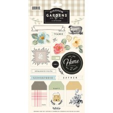 Gingham Gardens Sticker Sheet
