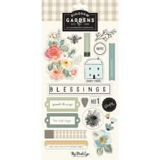 Gingham Gardens Chipboard