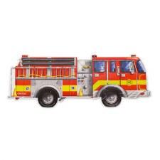 Melissa & Doug Floor Puzzle- Fire Truck