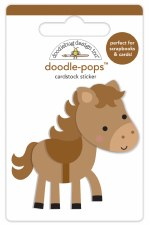 Down On The Farm Doodle-Pops Stickers- Giddy Up