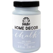 FolkArt Home Decor Chalk Paint 8 oz- Glacier