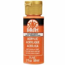 FolkArt 2 Oz. Acrylic Paint- Glazed Carrots
