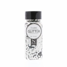 2oz. Glitter- Chunky Silver