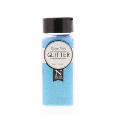 2oz. Glitter- Extra Fine Neon Blue
