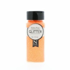 2oz. Glitter- Extra Fine Neon Orange