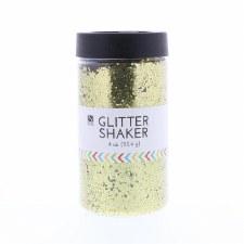 4oz. Glitter Shaker- Gold