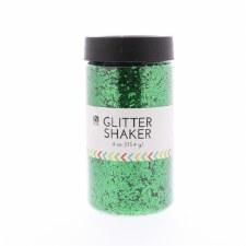 4oz. Glitter Shaker- Kelly Green